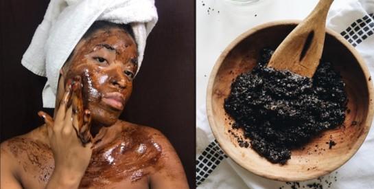 Gommage : les bienfaits du marc de café pour la peau