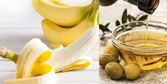 Remède huile d`olive et banane pour soulager la constipation