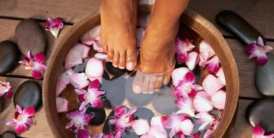 5soins maison pour avoir des pieds doux naturellement