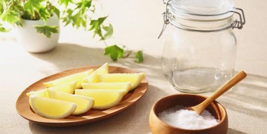 Remède : le citron et le sel pour stopper  la migraine