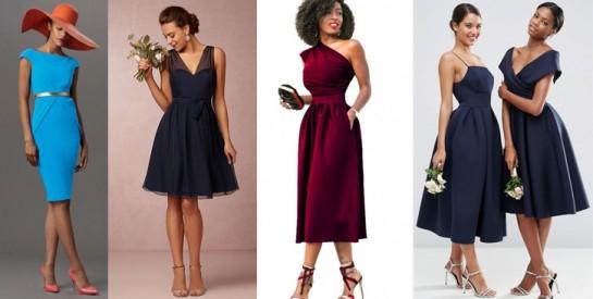 Pour briller à un mariage, voici notre sélection de robes de cocktail !