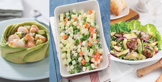 Régime spécial: 6 salades composées de Dima Khalil, Nutritionniste-Diététicienne