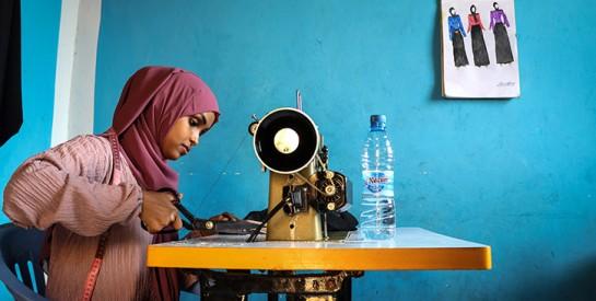 Somalie: de jeunes stylistes tentent d`imposer leur griffe à Mogadiscio