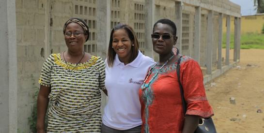 Jacqueville : YELENBA-Women In Action débute les travaux d'achèvement du centre d'action communautaire pour l'enfance