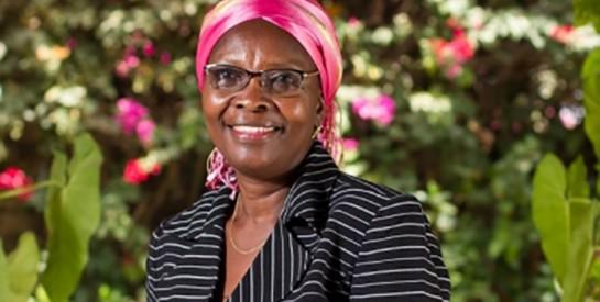 Dr.Justine Coulidiati-Kielem : ``L'homme doit être la tête, la femme le cou. Mais on ne peut pas bouger la tête sans tourner le coup``