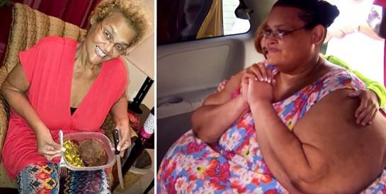 Souffrant d'obésité morbide, une femme de 340kg révèle comment elle a perdu 270kg en 3 ans