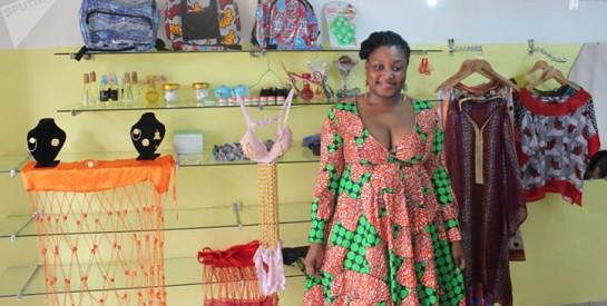 Les créations originales de Roukiatou Djinko ont séduit l'une des femmes d'affaires les plus influentes ivoiriennes