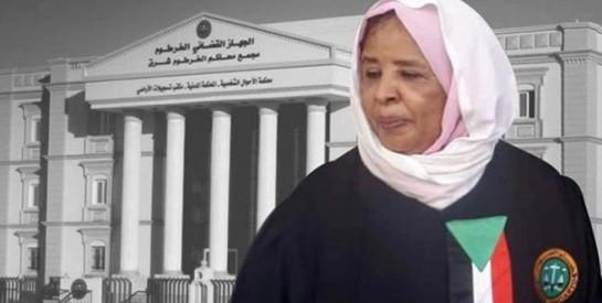 Une femme présidente de la Cour Suprême au Soudan