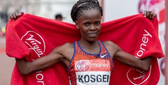 La Kényane Brigid Kosgei bat le record du monde du marathon