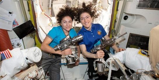 Première sortie spatiale 100 % féminine