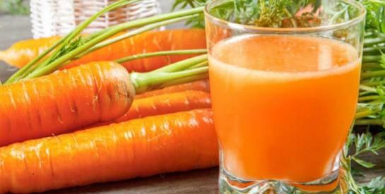 Le jus de carotte : découvrons ses bienfaits pour notre organisme