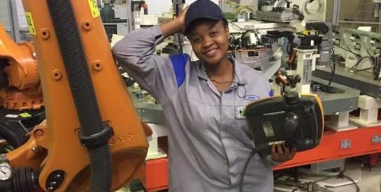 Afrique du Sud : de plus en plus de femmes noires dans des métiers d'hommes