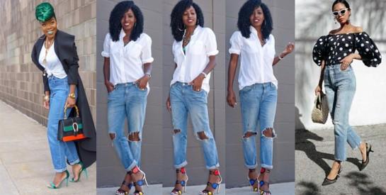 Tendance mode : Savoir porter le jean mom avec classe en 2019