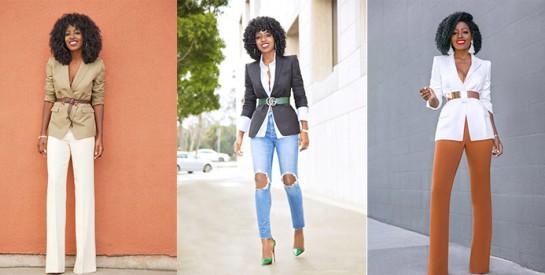 Comment porter une ceinture sur une veste avec style