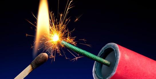 Conseils d`utilisation des pétards et feux d`artifice