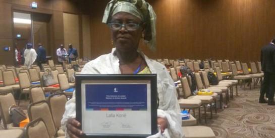 Madame Lalla KONE, lauréate du prix ``Femme en Action`` du CECI