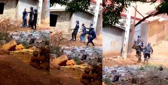 En Guinée, une femme utilisée comme bouclier humain par des policiers