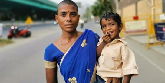 Prema Selvam : ``J'ai vendu mes cheveux pour 2 dollars pour nourrir mes enfants``