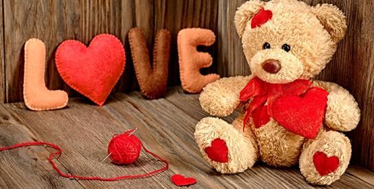 Voici 3 raisons d'offrir une Peluche pour la St Valentin