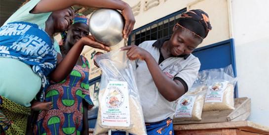 Au Togo, une coopérative d'agricultrices lance avec succès un riz 100 % qualité supérieure