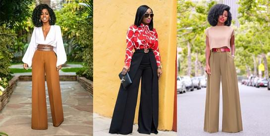Le pantalon palazzo, toujours tendance