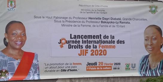 Lancement à Abidjan des festivités de la Journée internationale des droits de la femme
