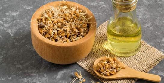 L`huile de germe de blé, l`alliée des peaux matures et très sèches