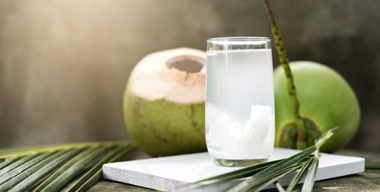 L`eau de coco, c`est bon pour la santé