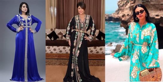 Comment porter joliment le caftan marocain quand on est une femme