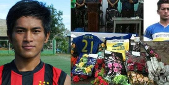 Le footballeur indien Peter Biaksangzuala se tue en célébrant son but