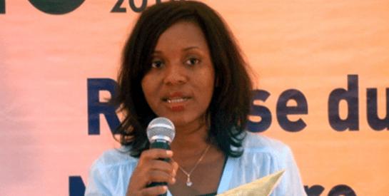 Aïssata Sankara, lauréate 2014 du prix de la meilleure journaliste Burkinabè