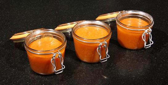Comment faire une confiture de mangue à la vanille peu sucrée