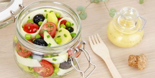 Comment composer une salade équilibrée ?
