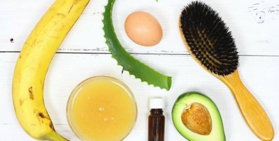 Masques maisons pour réparer les cheveux fatigués, ternes et secs