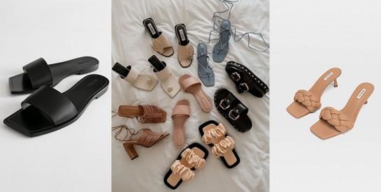 Les sandales bout à carré, c'est tendance et stylé