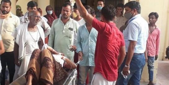 Inde : Une femme enceinte éventrée par son mari a donné naissance à un garçon mort-né