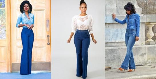 Le jean flare, c'est ultra tendance