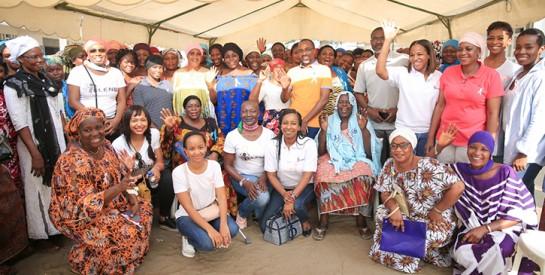 Lutte contre le cancer du sein / l'ONG Yelenba sensibilise les femmes du quartier BIA Sud à Koumassi : `` Quand il est vite dépisté, il peut être guéri``
