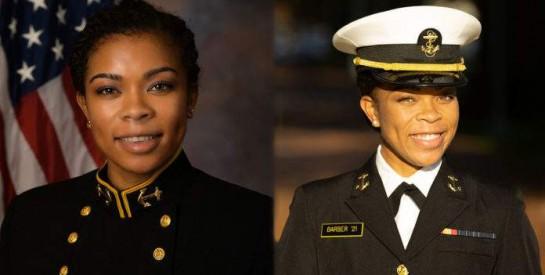 Sydney Barber, première femme noire à la tête de l'US Naval Academy