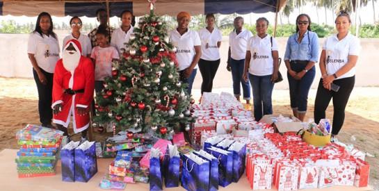 Jacqueville / Noël 2020: L'Ong Yelenba WIA et la société Naïma Dolls célèbrent les enfants d'Adoumangan