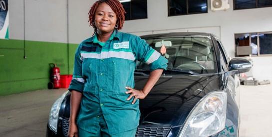 Mme Kouadio Brigitte, inspectrice technique à Mayelia : ``Passionnée,  elle fait bien son travail ``