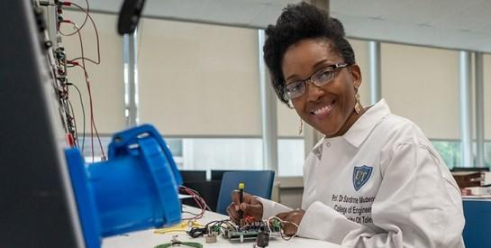 Sandrine Mubenga, la femme qui contrôle le secteur de l'énergie moderne en RDC