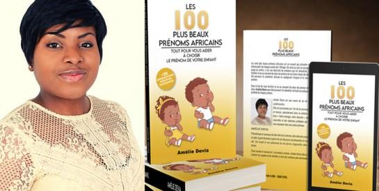 """Amélie Devia sort son deuxième livre : """"Les 100 Plus Beaux Prénoms Africains"""""""