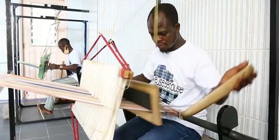 Bénin : le pagne tissé local fait recette