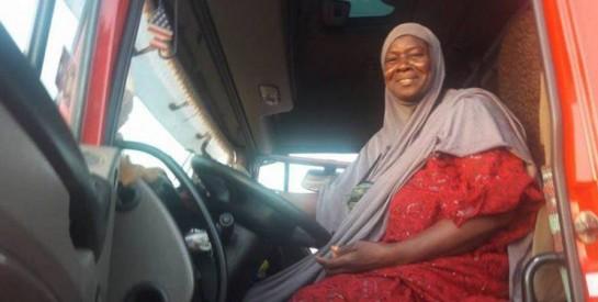 Burkina : À 60 ans, Massata Cissé est une pionnière de la conduite des poids lourds