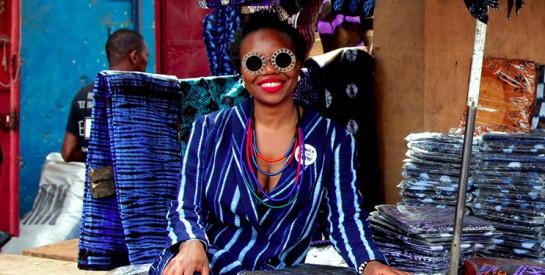 La créatrice bruxelloise Siré Kaba habille la Princesse Delphine