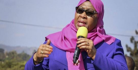 La présidente de la Tanzanie, Samia : ``nous sommes ici pour montrer que les femmes peuvent diriger``