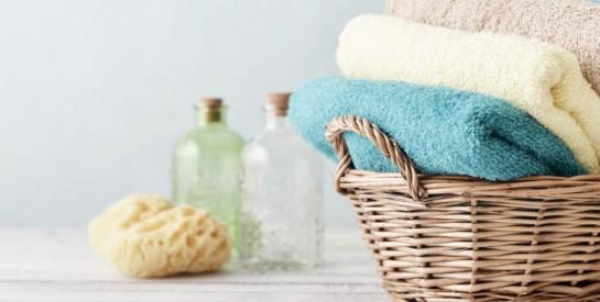 La recette pour redonner de la douceur à vos serviettes et draps de bain rêches
