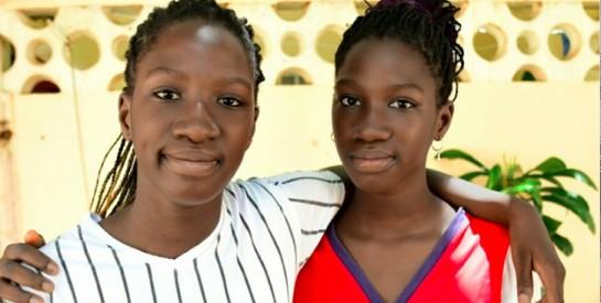 Sénégal: jumelles bachelières à 13 ans, elles rêvent de génie civil