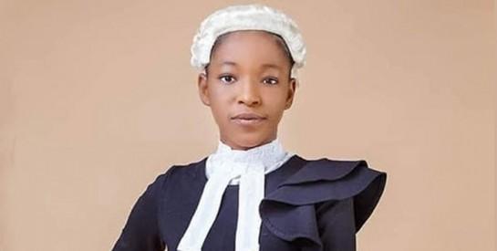 L'avocate Esther Chukwuemeka, la plus jeune inspiration du genre féminin